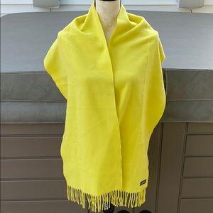 Coach beautiful cashmere scarf